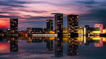 Almere skyline von