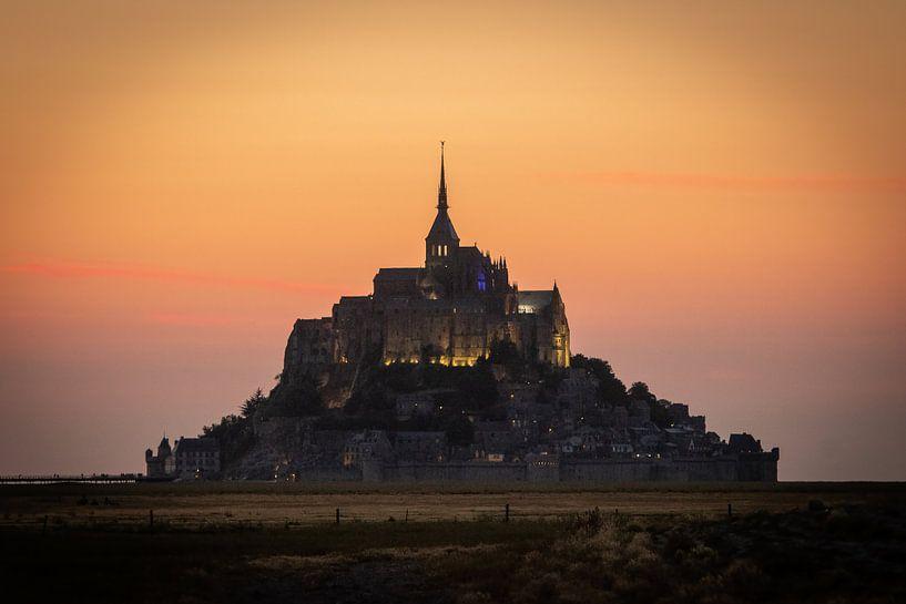 Mont Saint Michel van Jim De Sitter