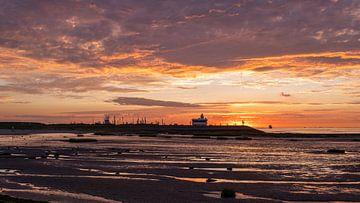 Panorama Zeedijk Terneuzen, Zeeland, Nederland van Mayee Riemens
