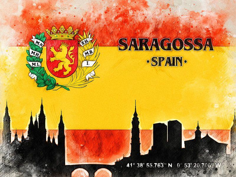 Saragossa van Printed Artings