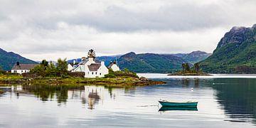Plockton in den Highlands von Schottland von Werner Dieterich