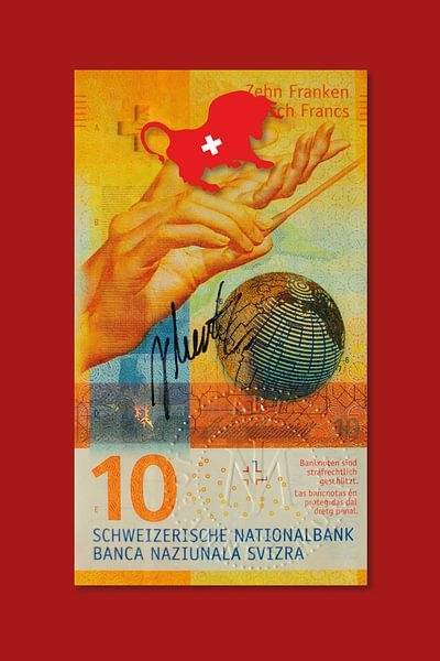Bankbiljet Zwitserland JM0205 van Johannes Murat