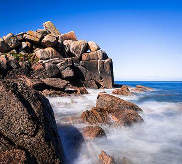 Ruige zee van Jeroen Mikkers