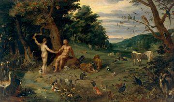 Péché originel, Jan Brueghel le Jeune sur