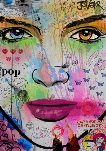 Zeitgeist pop van LOUI JOVER