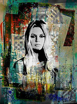 Brigitte Bardot von PictureWork - Digital artist