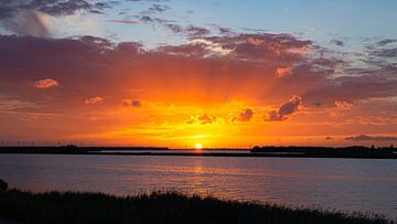 Sonnenuntergang am See von JWB Fotografie