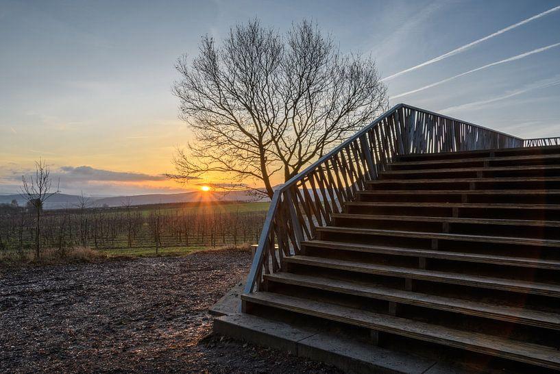sun rise van Heinz Grates
