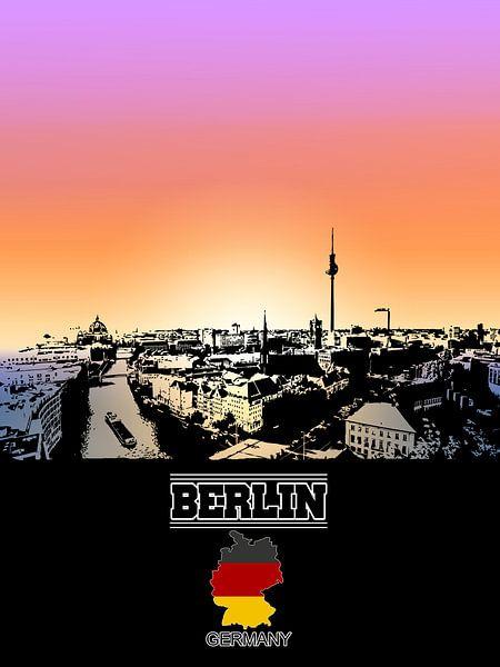 Berlin von Printed Artings
