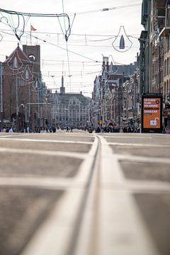 Amsterdam centrum tramlijn van Emrah Senel