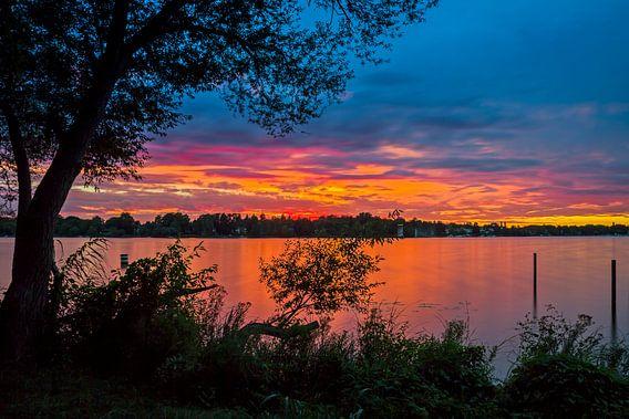 Wannsee Sonnenuntergang