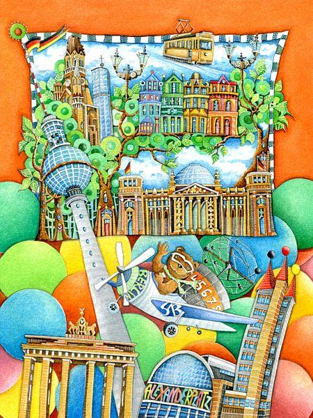 Berlijn - Europa voor Kinderen van Atelier BuntePunkt