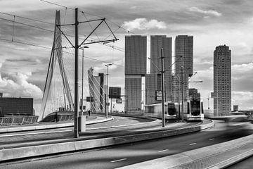 skyline Rotterdam von Marjan Versluijs