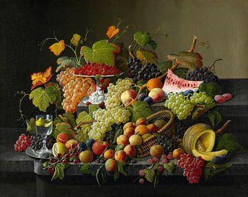 Overvloedig fruit, Severin Roesen