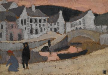 Roger de La Fresnaye~Der Kanal, Landschaft der Bretagne