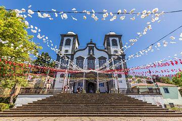 Wallfahrtskirche Nossa Senhora do Monte auf Madeira von Werner Dieterich