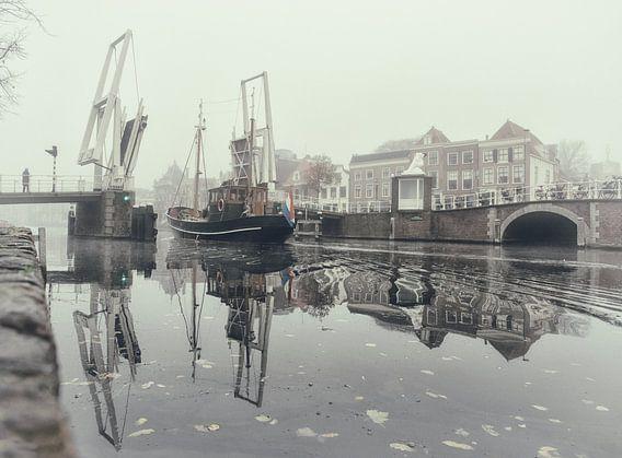Haarlem: Gravestenenbrug.