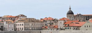 Panorama Dubrovnik von Gonnie van Hove