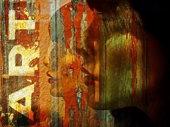 Red lips and ART van Gabi Hampe