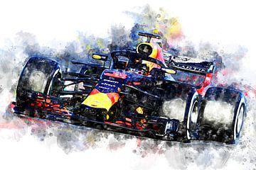 Daniel Ricciardo, 2018 von Theodor Decker