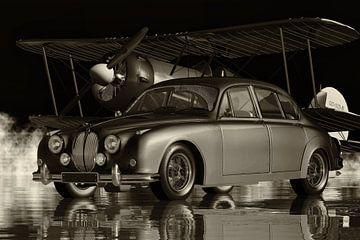 Jaguar MK2 uit 1963 de meest Britse auto