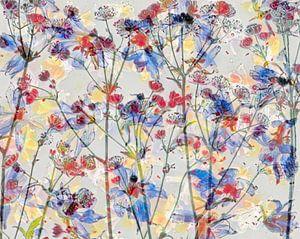 Abstrakte, künstlerische Blumenfotografie. von Saskia Dingemans