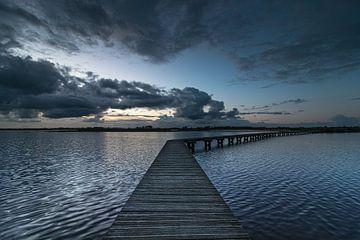 Sonnenuntergang am Dannemeer von P Kuipers