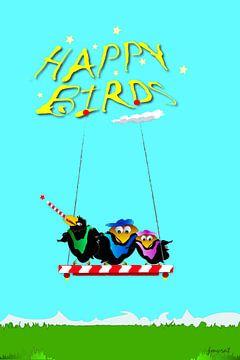 Happy Birds JM0031op van Johannes Murat
