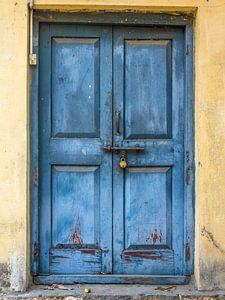 Blauwe deur 3
