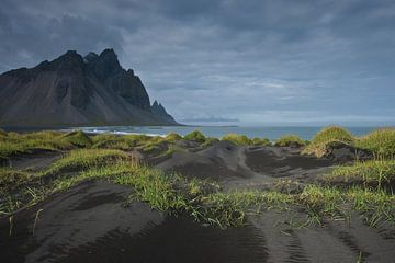 Iceland, view on Vestrahorn von