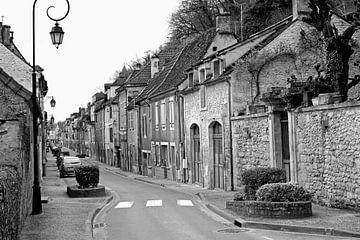 Eine kleine Straße zu Besuch in Frankreich von Artelier Gerdah