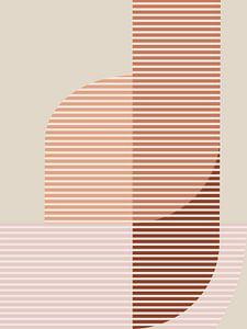 Abstracte samenstelling 1110 van Angel Estevez