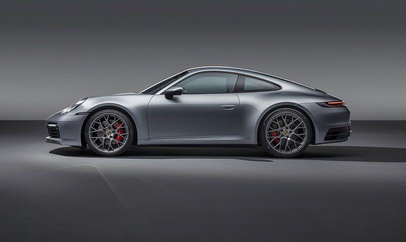 Porsche 911 Carrera 4S, Sportwagen. von Gert Hilbink