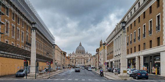 Zicht op het Vaticaan