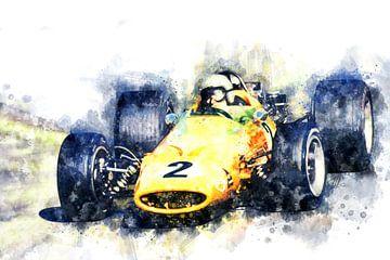 Bruce McLaren 1968 von Theodor Decker