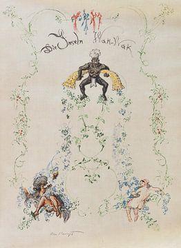 1001 Nacht, Inseln Wak Wak. Einbd. von R. Kieffer. MAX SLEVOGT, 1921 von Atelier Liesjes
