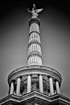 BERLIN Victory Column | Monochrome van