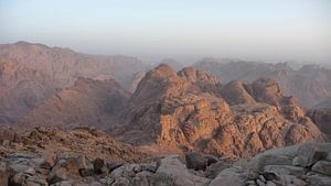 'Sinaï gebergte', Mozesberg- Egypte  van