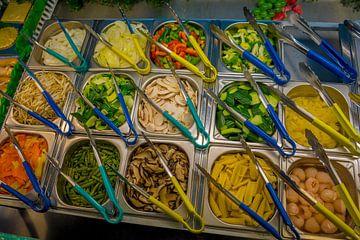 Vitrine chinees restaurant van Fred Leeflang
