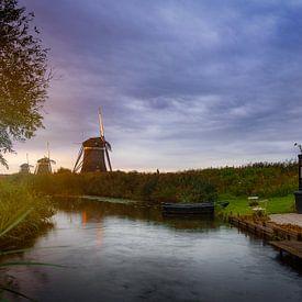 Hollands landschap van Björn van den Berg