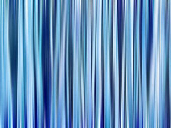 Hint of Denim (Blauwe Strepen in Denimkleuren)