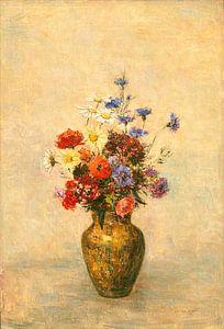 Bloemen in een Vaas, Odilon Redon