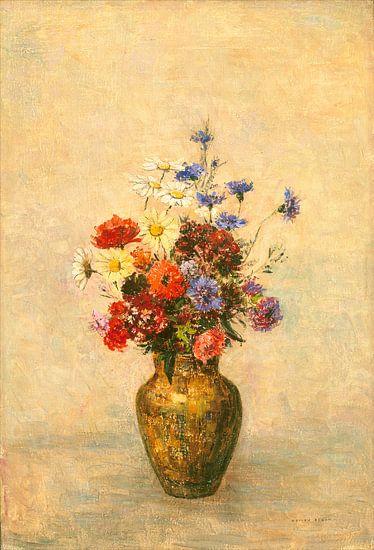 Bloemen in een Vaas, Odilon Redon van Liszt Collection