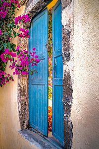 Deuren op Santorini van