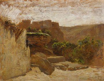 Carlos de Haes-Tusia landschap, Antiek landschap