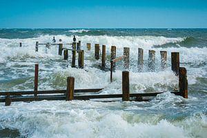 Wellen an der Ostsee von Martin Wasilewski