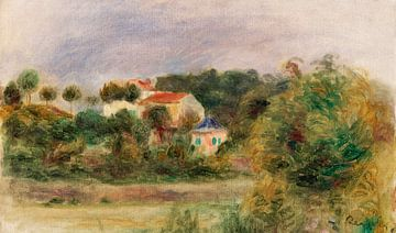 Renoir, Villen in einem Park (1911) von Atelier Liesjes
