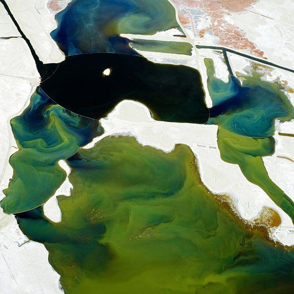 Searles Lake, Californie, USA van Marco van Middelkoop