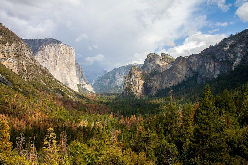 Yosemite Nationaal Park van Robbie Veldwijk