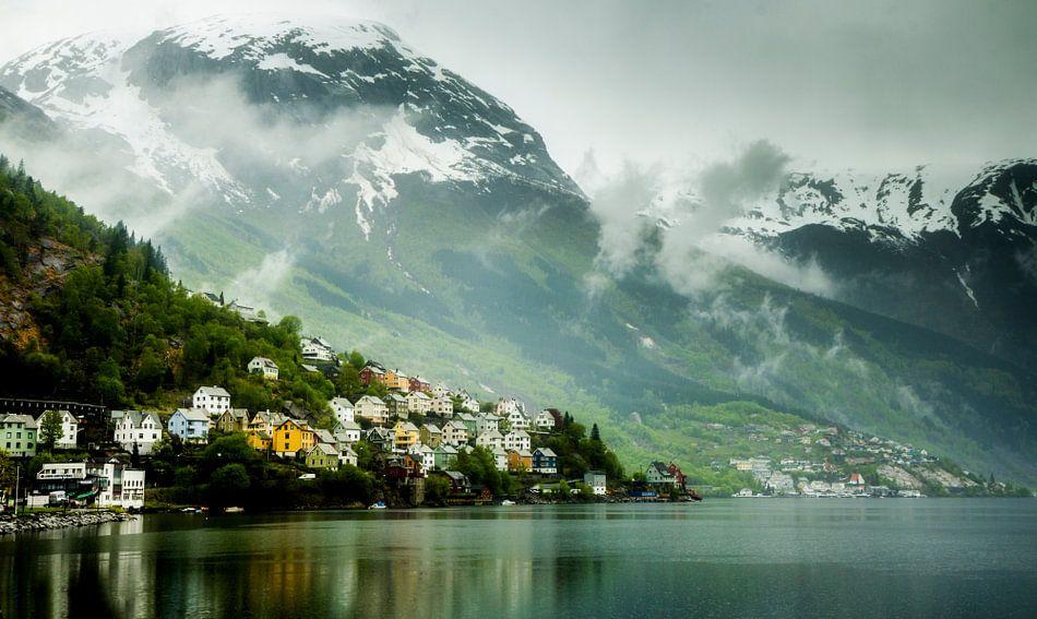 Norway Village 2 van Tom Opdebeeck